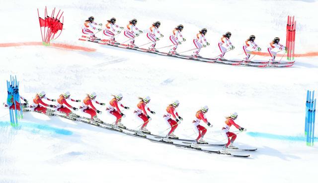Olympic PyeongChang 2018: Những khoảnh khắc ấn tượng trong ngày thi đấu thứ 15 - Ảnh 2.