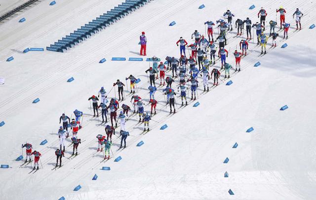 Olympic PyeongChang 2018: Những khoảnh khắc ấn tượng trong ngày thi đấu thứ 15 - Ảnh 8.