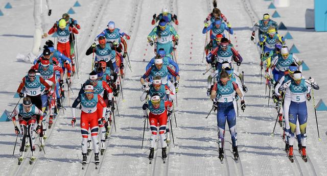 Olympic PyeongChang 2018: Những khoảnh khắc ấn tượng trong ngày thi đấu cuối cùng - Ảnh 9.