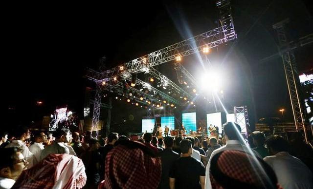 Lễ hội nhạc Jazz đầu tiên tại Saudi Arabia - Ảnh 1.