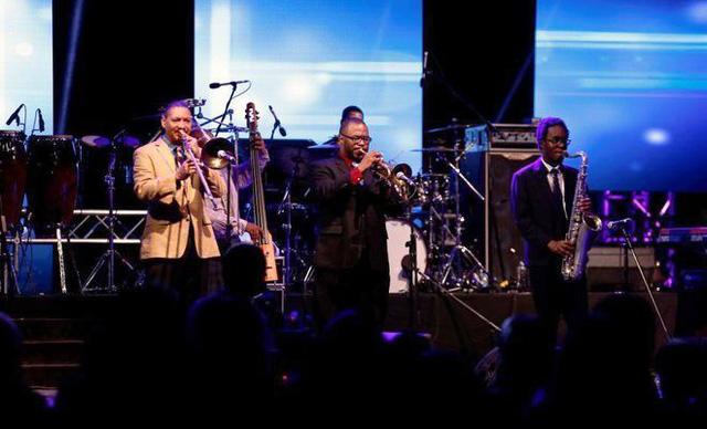 Lễ hội nhạc Jazz đầu tiên tại Saudi Arabia - Ảnh 3.