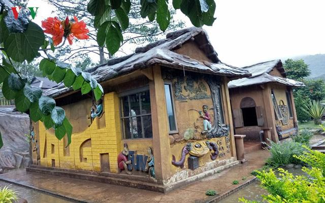 Thăm ngôi nhà đất sét độc nhất vô nhị ở Đà Lạt - Ảnh 3.