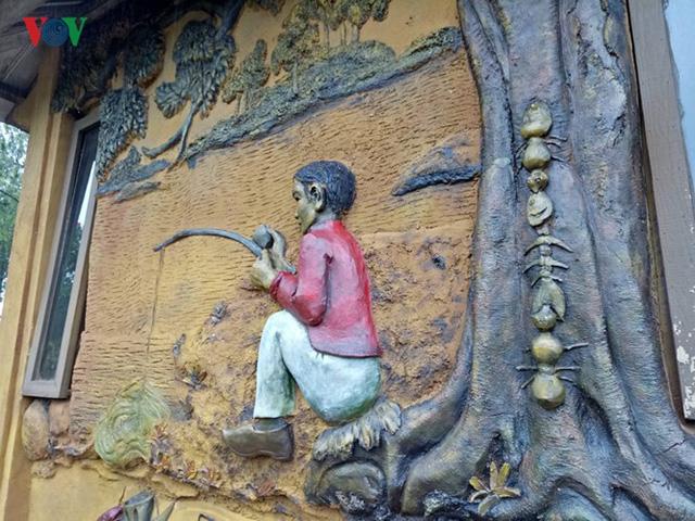 Thăm ngôi nhà đất sét độc nhất vô nhị ở Đà Lạt - Ảnh 4.