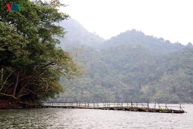 """Cảnh đẹp """"khó hững hờ"""" ở hồ Ba Bể trong tiết trời xuân - Ảnh 7."""