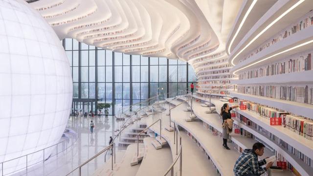 Ngỡ ngàng vũ trụ sách khổng lồ ở Trung Quốc - Ảnh 4.