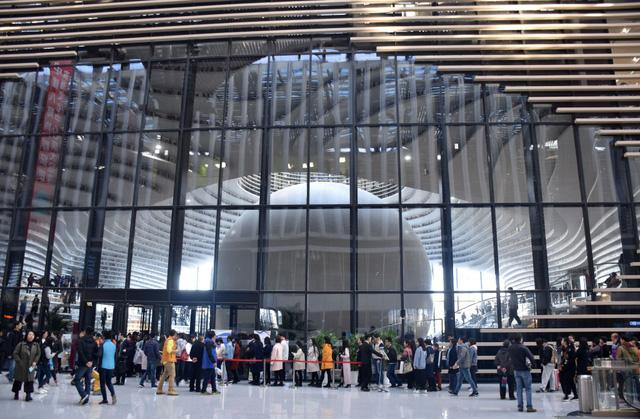 Ngỡ ngàng vũ trụ sách khổng lồ ở Trung Quốc - Ảnh 5.