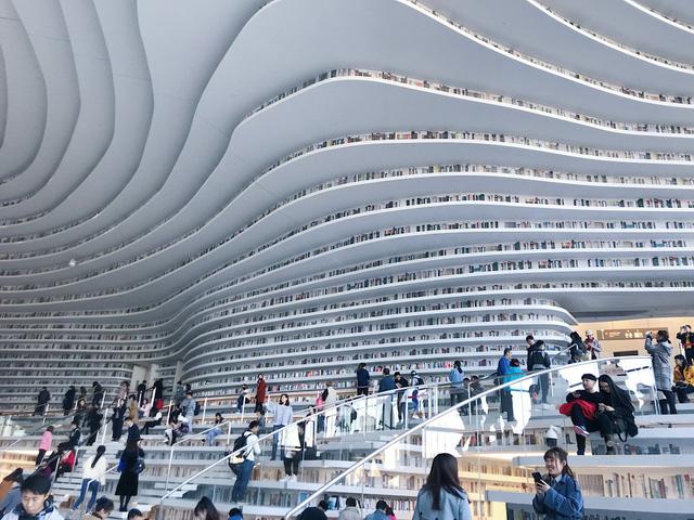 Ngỡ ngàng vũ trụ sách khổng lồ ở Trung Quốc - Ảnh 7.