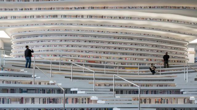 Ngỡ ngàng vũ trụ sách khổng lồ ở Trung Quốc - Ảnh 11.