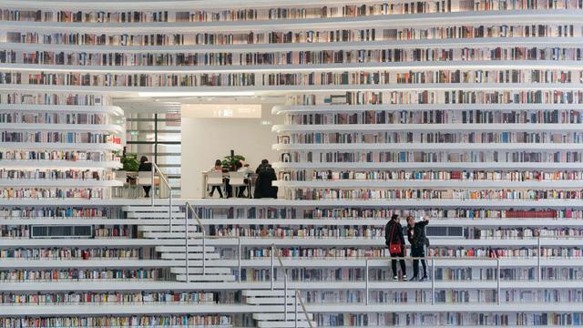 Ngỡ ngàng vũ trụ sách khổng lồ ở Trung Quốc - Ảnh 13.