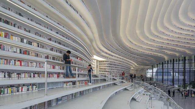 Ngỡ ngàng vũ trụ sách khổng lồ ở Trung Quốc - Ảnh 14.