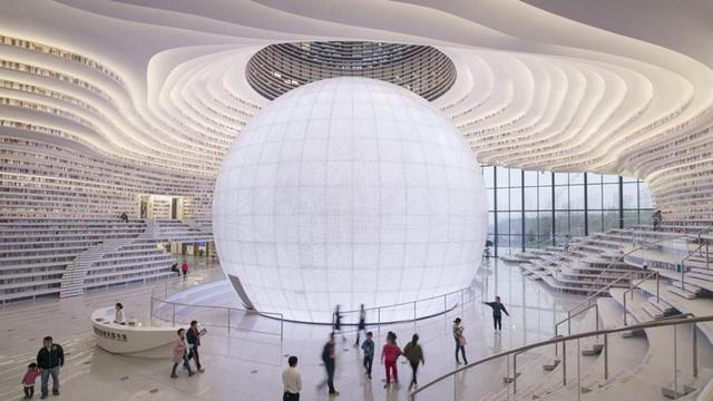 Ngỡ ngàng vũ trụ sách khổng lồ ở Trung Quốc - Ảnh 15.