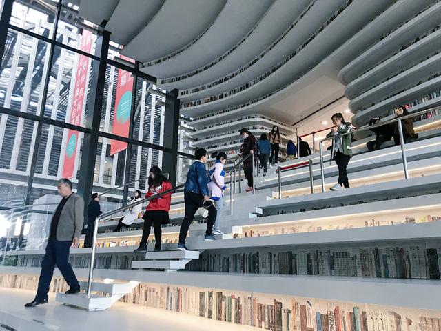 Ngỡ ngàng vũ trụ sách khổng lồ ở Trung Quốc - Ảnh 16.