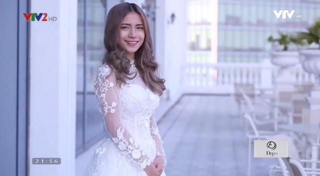 Xu hướng váy cưới 2018: Cổ cao, ống tay dài? - Ảnh 2.