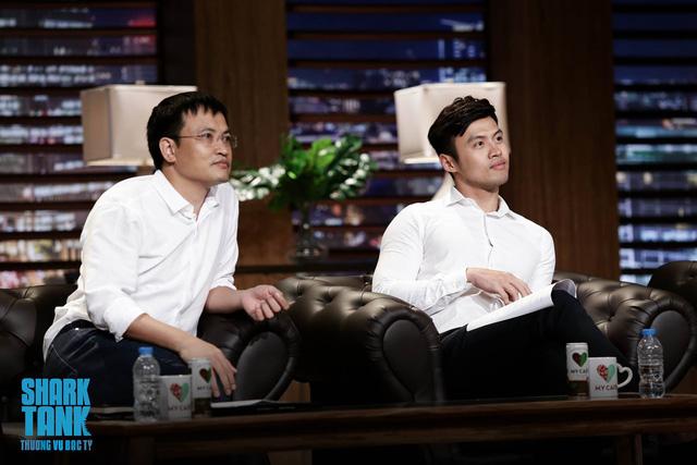 Soái ca khởi nghiệp Lê Đăng Khoa diện sơ mi trắng ngồi ghế nóng Shark Tank Việt Nam - Ảnh 1.