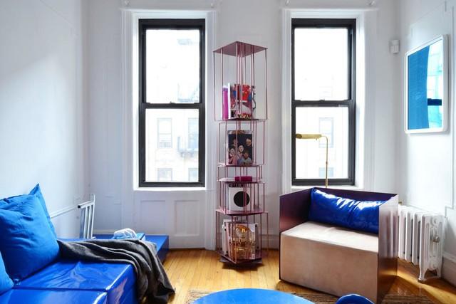 Tô điểm màu xanh cho căn hộ thêm phần nổi bật - Ảnh 14.