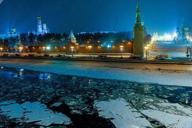 Âm nhiều độ, Thủ đô Moscow (Nga) biến thành Vương quốc Băng - Ảnh 1.