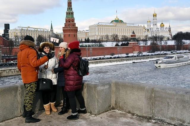 Âm nhiều độ, Thủ đô Moscow (Nga) biến thành Vương quốc Băng - Ảnh 3.