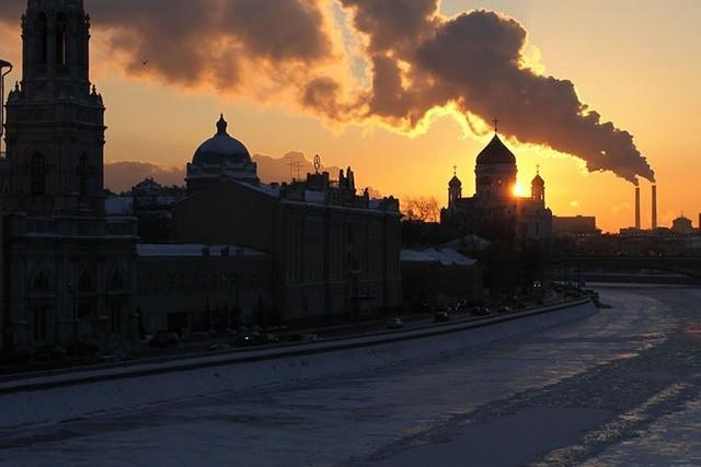 Âm nhiều độ, Thủ đô Moscow (Nga) biến thành Vương quốc Băng - Ảnh 9.