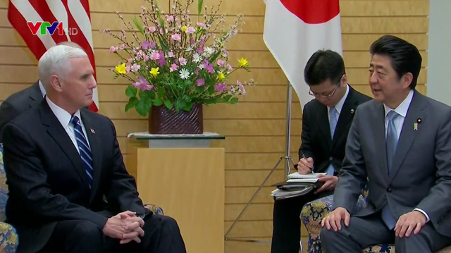 Phó Tổng thống Mỹ Mike Pence thăm Nhật Bản - Ảnh 1.