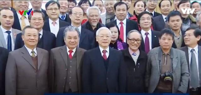 Tổng Bí thư Nguyễn Phú Trọng: Trí thức, văn nghệ sỹ là hiền tài, nguyên khí quốc gia - ảnh 1