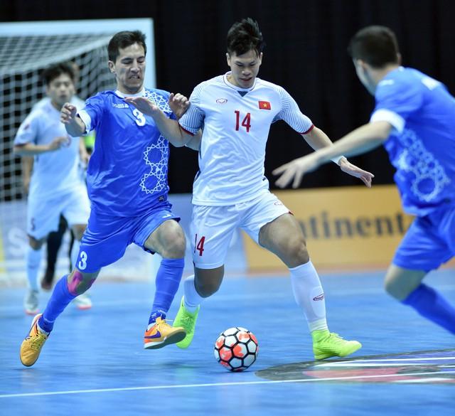 VIDEO Tổng hợp trận đấu: ĐT futsal Uzbekistan 3-1 ĐT futsal Việt Nam - Ảnh 1.