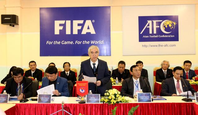 Ảnh: Chủ tịch FIFA Gianni Infantino trong chuyến thăm và làm việc tại Việt Nam - Ảnh 9.
