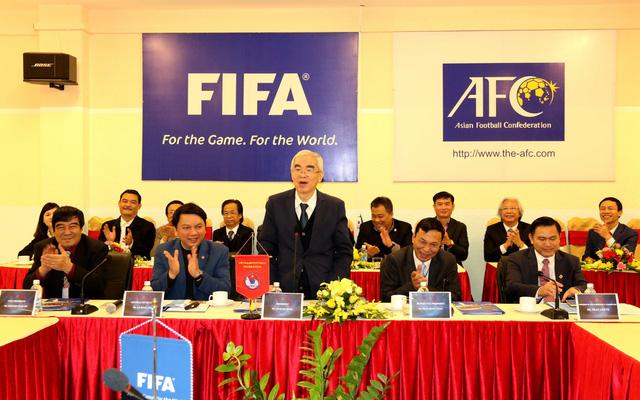 Ảnh: Chủ tịch FIFA Gianni Infantino trong chuyến thăm và làm việc tại Việt Nam - Ảnh 11.
