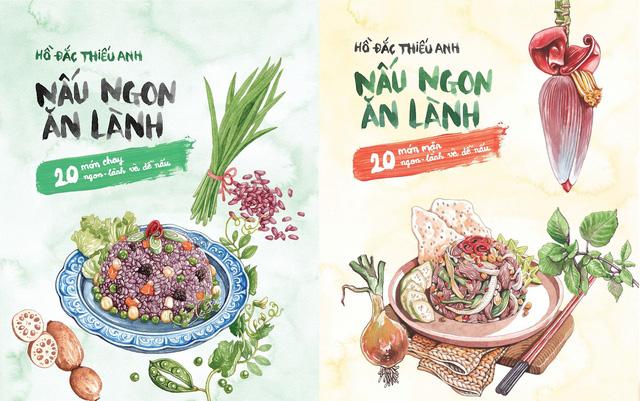 """Bộ sách """"Nấu ngon ăn lành"""": Món quà Tết cho những người yêu bếp - Ảnh 1."""