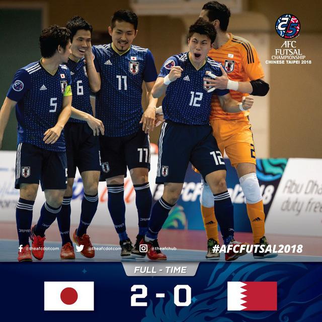 Kết quả vòng tứ kết futsal châu Á 2018: Không có bất ngờ! - Ảnh 3.