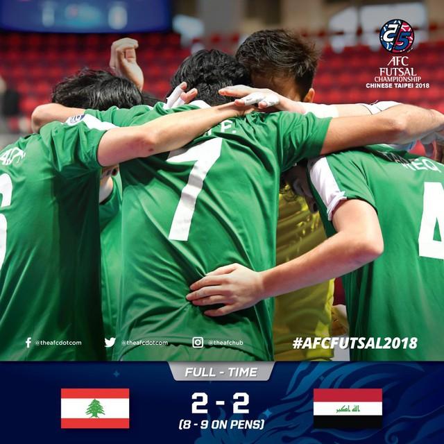 Kết quả vòng tứ kết futsal châu Á 2018: Không có bất ngờ! - Ảnh 1.