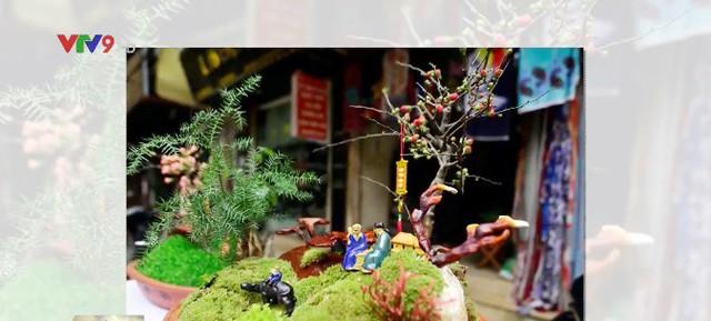 Nấm linh chi biến thành cây cảnh độc đáo trưng bày dịp Tết - ảnh 1