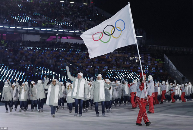 ẢNH: Lễ khai mạc đầy màu sắc của Olympic Pyeongchang 2018 - Ảnh 10.