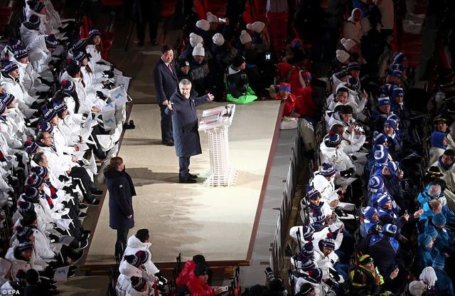 ẢNH: Lễ khai mạc đầy màu sắc của Olympic Pyeongchang 2018 - Ảnh 12.