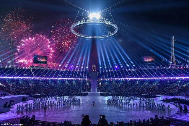 ẢNH: Lễ khai mạc đầy màu sắc của Olympic Pyeongchang 2018 - Ảnh 14.