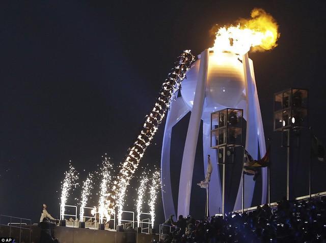 ẢNH: Lễ khai mạc đầy màu sắc của Olympic Pyeongchang 2018 - Ảnh 17.