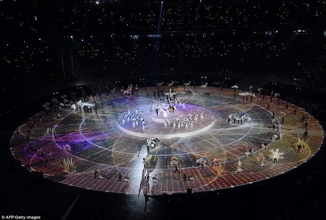 ẢNH: Lễ khai mạc đầy màu sắc của Olympic Pyeongchang 2018 - Ảnh 5.