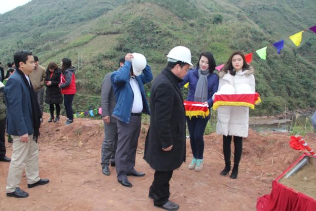 Khởi công xây dựng cây cầu dân sinh 2,6 tỷ đồng tại xã Nà Ui, Lai Châu - Ảnh 1.