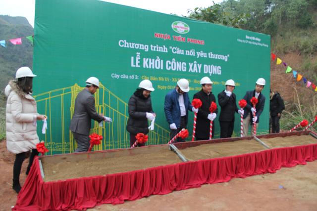 Khởi công xây dựng cây cầu dân sinh 2,6 tỷ đồng tại xã Nà Ui, Lai Châu - Ảnh 3.