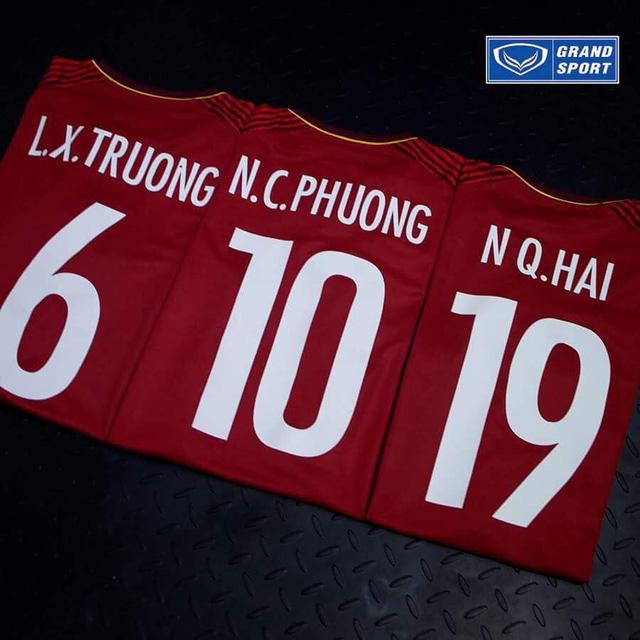 Ra mắt áo đấu mới của các ĐT Việt Nam trước thềm VCK U23 châu Á 2018 - Ảnh 3.