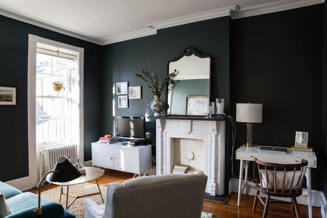 Nhặt nhạnh bí kíp tô điểm không gian sống nhỏ hẹp qua căn hộ ở Brooklyn - Ảnh 2.