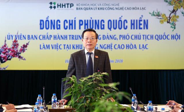 Quốc hội coi Hòa Lạc là dự án đầu tư trọng điểm Nhà nước - Ảnh 3.