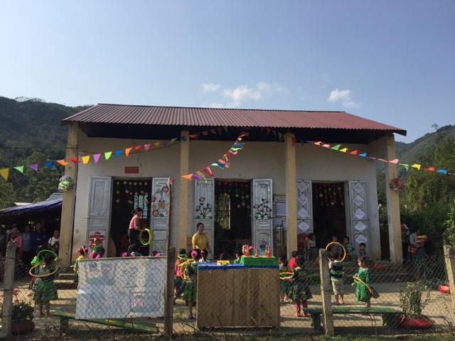 Hỗ trợ xây công trình phụ cho học sinh Mầm non Khe Ron - Ảnh 16.