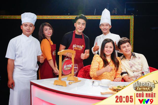 Đấu trường ẩm thực: Đôi bạn Hải Yến - Huy Nam tranh nhau danh hiệu đảm đang - Ảnh 1.