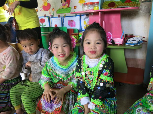 Hỗ trợ xây công trình phụ cho học sinh Mầm non Khe Ron - Ảnh 1.