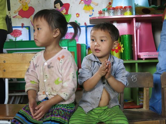 Hỗ trợ xây công trình phụ cho học sinh Mầm non Khe Ron - Ảnh 3.