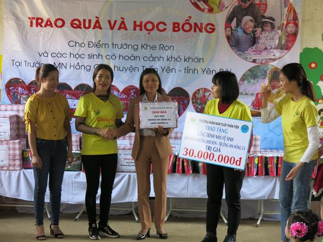 Hỗ trợ xây công trình phụ cho học sinh Mầm non Khe Ron - Ảnh 4.