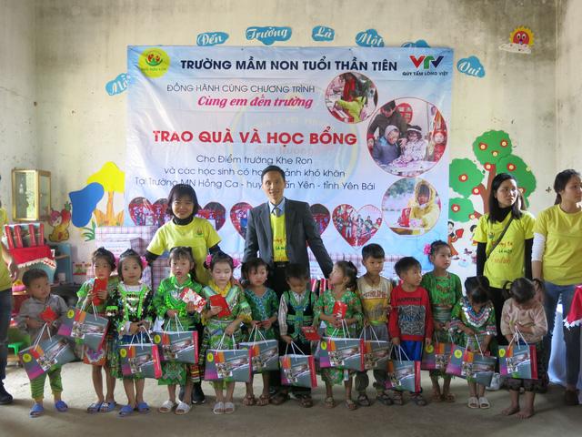 Hỗ trợ xây công trình phụ cho học sinh Mầm non Khe Ron - Ảnh 6.