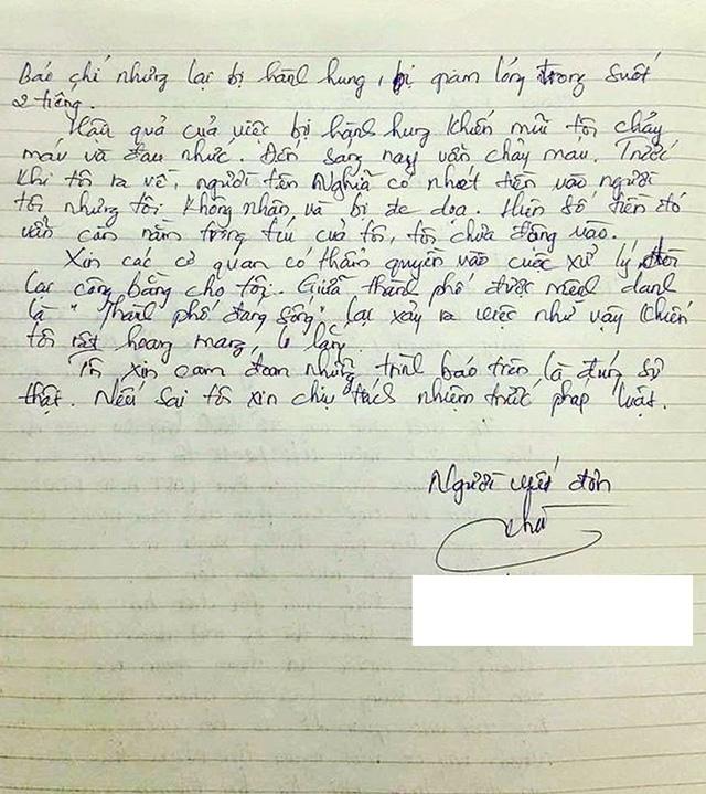 Đà Nẵng chỉ đạo làm rõ thông tin phóng viên bị hành hung khi tác nghiệp - Ảnh 2.
