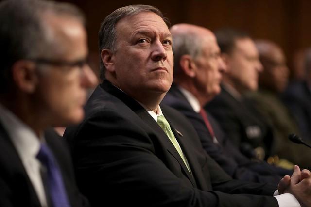 Ngoại trưởng Mỹ Rex Tillerson bị cách chức - Ảnh 1.