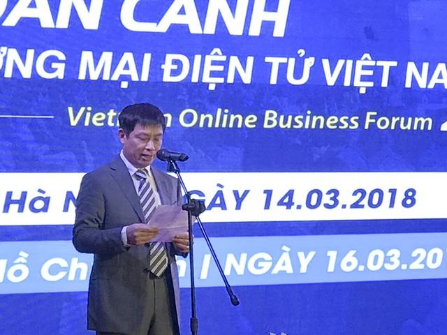 Việt Nam có tốc độ phát triển thương mại điện tử nhanh so với thế giới - Ảnh 1.